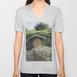 House of the Little People Unisex V-Neck