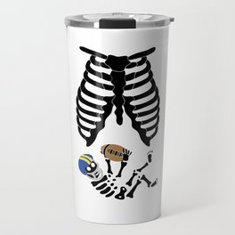 Basketball Baby Shirt Mama Skeleton Child Travel Mug