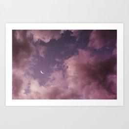 Consider me a satellite forever orbiting Art Print
