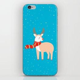 Christmas Deer iPhone Skin