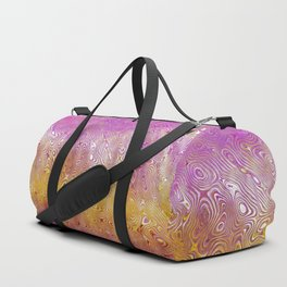Pink Wave Duffle Bag