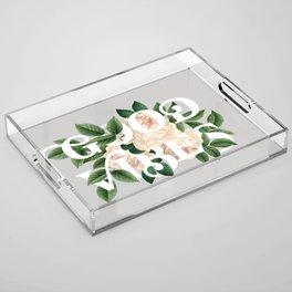 Good Vibes Acrylic Tray