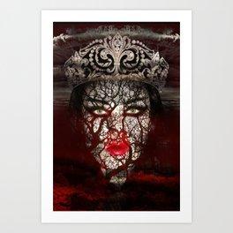 Erzsebet Bathory Art Print