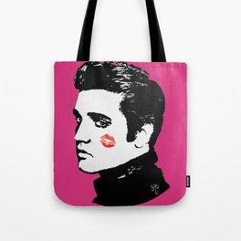 Elvis in the Pink Tote Bag