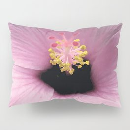 Pink Hibiscus Pillow Sham
