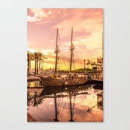 Shoreline Long Beach, California Canvas Print