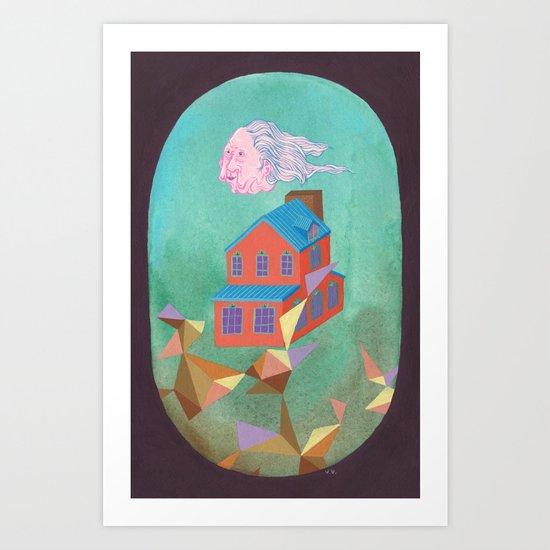 Lloyd's House Art Print