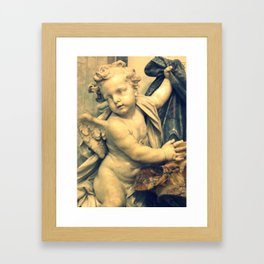 The Hallelujah Cherub. Framed Art Print