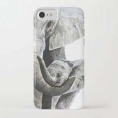 Elephant mom iPhone 7 Slim Case