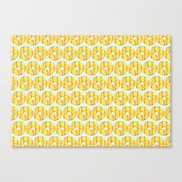 Party Ring Biscuit Pattern Canvas Print