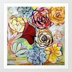 Southern California Garden Art Print