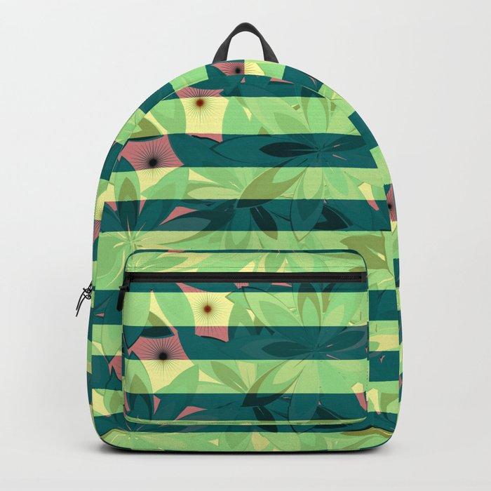 Vegetation-stripes Backpack