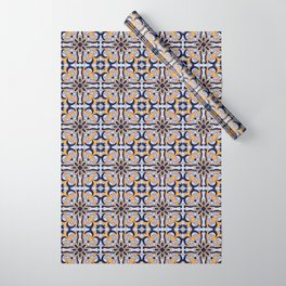 Portuguese tile Wrapping Paper