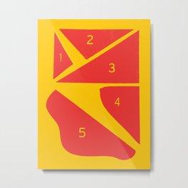 LA Space View — Matthew Korbel-Bowers Metal Print