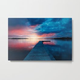 Solitary Sweden Metal Print