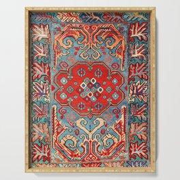 Zeikhur Kuba East Caucasus Rug Print Serving Tray