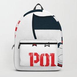 Poland 2018 World Football 2018 - Poland Flag Backpack