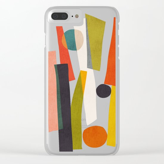 Sticks and Stones Clear iPhone Case