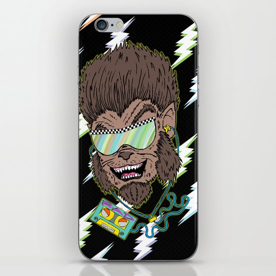 Hungry Like the Werewolf iPhone & iPod Skin