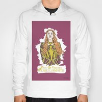 lannister Hoodies featuring Cersei by JessicaJaneIllustration
