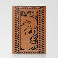 wallet Stationery Cards featuring Little Ghosty Wallet by Billy Davis