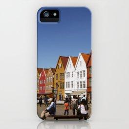 Bergen Bryggen iPhone Case