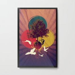 Wondertree Metal Print