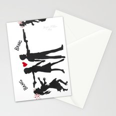 Zombie Hunting Stationery Cards
