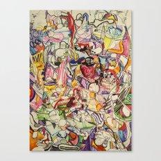 Drugs & Dubstep Canvas Print