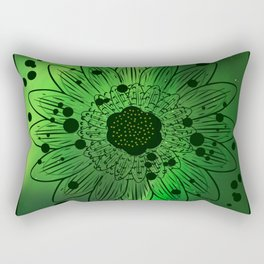 Flor de saturno !!! Rectangular Pillow