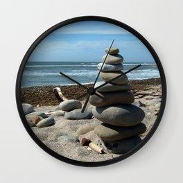 Beach Tower Wall Clock