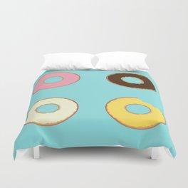 Four Doughnuts (Bitten version) Duvet Cover