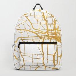 COLUMBUS OHIO CITY STREET MAP ART Backpack