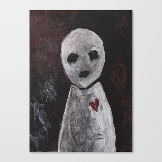 Portraits of Ghosts #6 Canvas Print