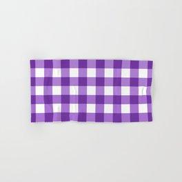 Purple Buffalo Check - more colors Hand & Bath Towel
