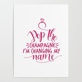 Pop the Champagne! Poster