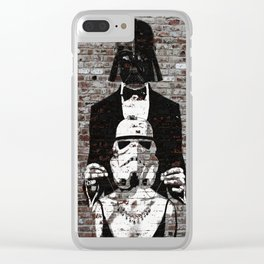 Spray Paint - The Gift Clear iPhone Case