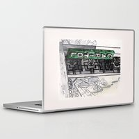 philippines Laptop & iPad Skins featuring Philippines : Capitol Theater by Ryan Sumo