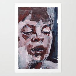 The Thought Inbetween Art Print