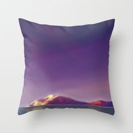 Atardecer Throw Pillow