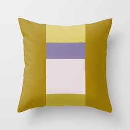 Gilded Orchid No. 4 Throw Pillow
