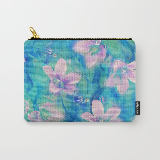 Bellflowers Carry-All Pouch