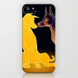 The Sun and the Moon iPhone Case