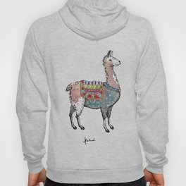 I have a llama in my living room. Hoody