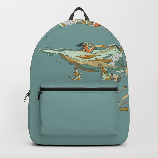 MELT INTO THE OCEAN Backpack