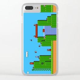 Super Mario Bros 2 Clear iPhone Case