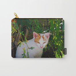Yellow eyed cat Carry-All Pouch