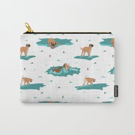 waterdogs pattern Carry-All Pouch