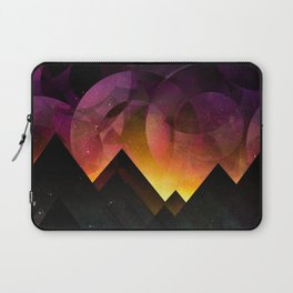 Whimsical mountain nights Laptop Sleeve