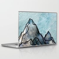 mountain Laptop & iPad Skins featuring Mountain by madbiffymorghulis